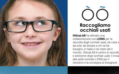 Raccogliamo occhiali usati: li doniamo a chi ne ha bisogno