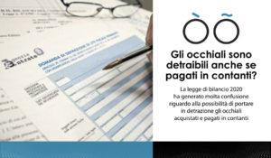 OtticaLAB - detrazione occhiali acquistati