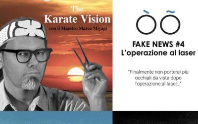 Fake news #4 sulla visione: l'operazione al laser