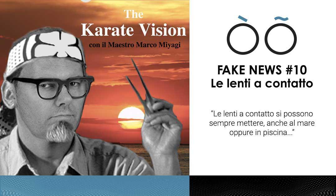 Fake news #10 sulla visione: le lenti a contatto si possono portare sempre