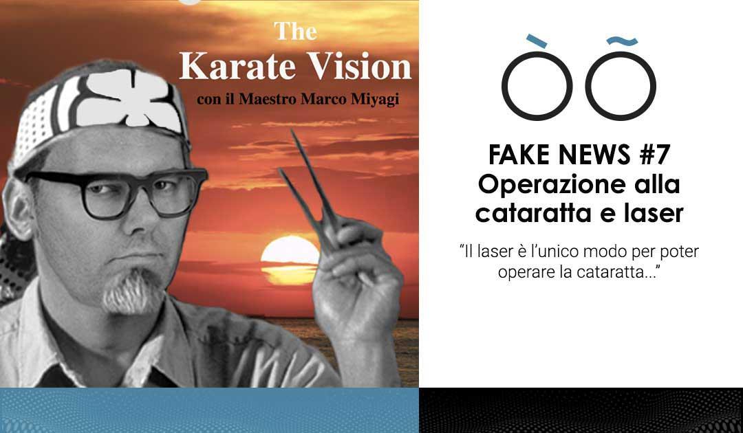 OtticaLAB - Fake news laser e operazione cataratta