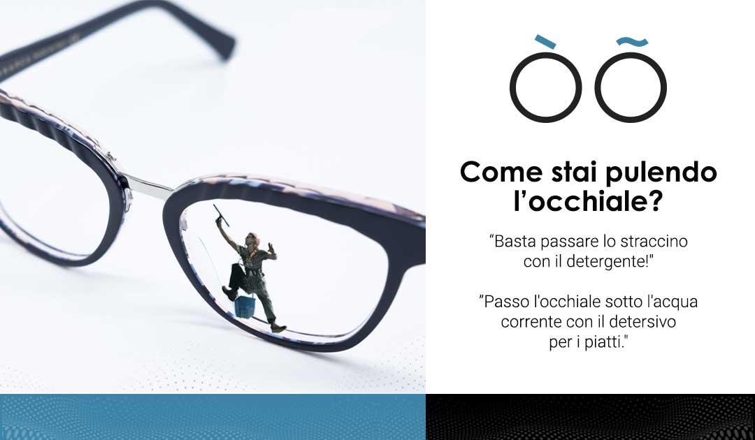 OtticaLAB - pulizia occhiale